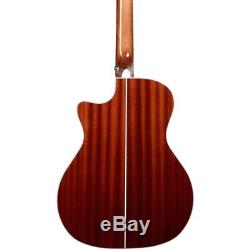 D'Angelico Premier Mott Single Cut Acoustic Bass withOnboard Preamp, Tuner Sunburst
