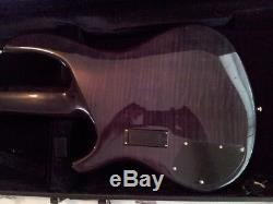 DEAN Edge Pro 5-string BASS GUITAR Rare OOP EMG PUs Grover Tuners w\ HS Case
