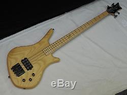DEAN Sledgehammer Ash 4-string BASS guitar NEW Sledge Hammer Grover Tuners