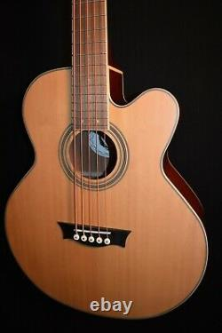 Dean EABC 5 String Acoustic Electric Bass Guitar withPreamp/Tuner Free Shipping