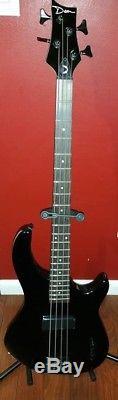 Dean Edge 09 Black 4 String Electric Bass Guitar + Strap, Soft Bag, Tuner, Pick