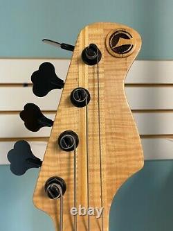 Dear John D-Town guitars S type tremelo Bass Laminated Maple Ash, hipshot tuners