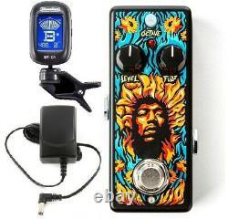 Dunlop Jhw2 Octavio Fuzz Mini Guitar Pedal Jimi Hendrix'69 Psych Series (tuner)