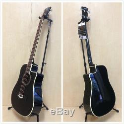 EKO NXT BASS D CW EQ Black, 4-String, Built-in EQ, Tuner +Free Gig Bag