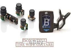 EMG BQC HZ System Passive Mid-Control, EQ, Bass, Treble, Volume (FREE TUNER)