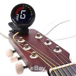 ENO ET-39 Clip on Automatic Digital Bass Guitar Ukulele Violin Tuner