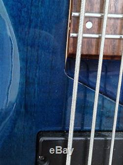 ESP B-155 5-String Bass Guitar Used withGig Bag, Strap & Tuner