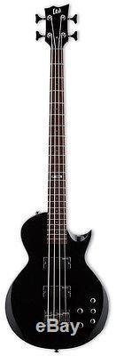 ESP LTD EC-154 BLK Bass Guitar Black Finish INCLUDES TUNER, CABLE, & STRAP