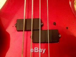 Early 80s BC Rich Warlock Bass NJ series EMG active pickups Grover tuners