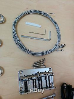 Electric Bass Guitar DIY Kits EB-303DIY withFree Digital Tuner, Picks