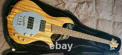 Electric Bass Traben Neo Limited 4 String Extra Strings Arom At-08 Tuner