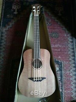 Electro acoustic Bass ukulele with built in tuner