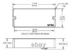 Emg 35dc Black 4 String Soapbar Bass Active Pickup Set Pots & Wiring (tuner)