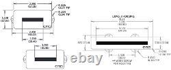 Emg For Pj Set White Active P & J Bass Pickups For Precision Jazz & Pots +tuner