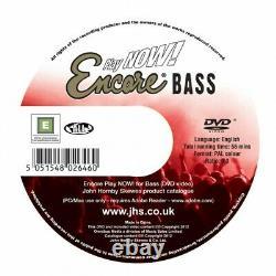 Encore E4 Bass Guitar Outfit Black Beginner Starter Learner Pack