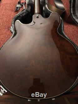 Epiphone Jack Casady Bass Guitar + case, Hipshot tuners & bridge, & flatwounds