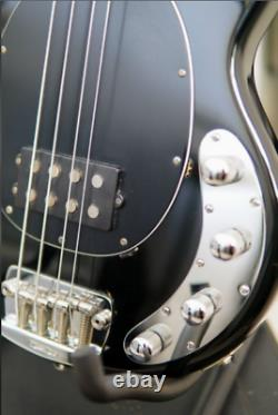Ernie Ball Musicman StingRay 3 EQ H Black 2000 FREE Soft Case, Strap and Cabl