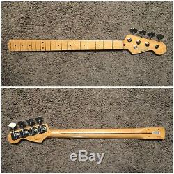 FENDER CLASSIC 50s PRECISION BASS NECK & GOTOH RES-O-LITE TUNERS GBR640 1950s