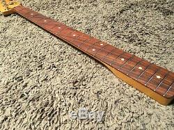 FENDER CLASSIC 60s JAZZ BASS NECK & TUNERS 1960s Pre-CBS Vintage Reissue 1962