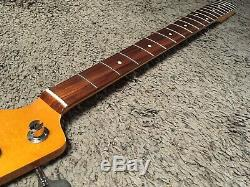 FENDER CLASSIC 60s LACQUER JAZZ BASS NECK & TUNERS -1960s Pre-CBS Reissue Nitro