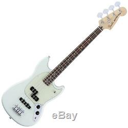 FENDER MUSTANG BASS PJ SBL with Stand and Tuner