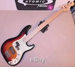 FENDER PRECISION BASS DELUXE with HIPSHOT USA TUNERS & ACTIVE PICKUPS