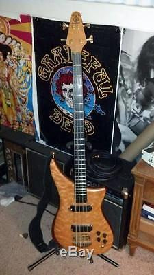 (FREE SHIPPING) 1995 Alembic Epic with Hipshot D Tuner / Hard Case