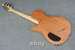 Fanned fret 7string (3 bass strings+4 guitar strings) electric guitar