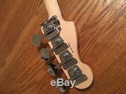 Fender 2017 Tony Franklin Fretless Precision P Bass Neck Ebony with Tuners