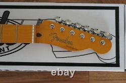 Fender'50s Telecaster Nitro Lacquer Neck with Vintage Tuners # 905 099-0063-921