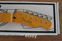 Fender'50s Telecaster Nitro Lacquer Neck with Vintage Tuners # 926 099-0063-921