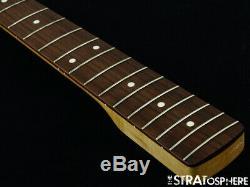 Fender Aerodyne Jazz Bass NECK & TUNERS J Bass Guitar Vintage White SALE