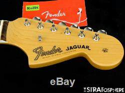 Fender American Original 60s Jaguar NECK + TUNERS USA Rosewood Bound, SALE