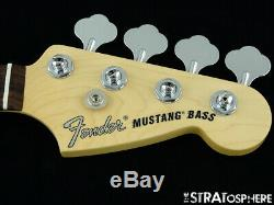 Fender American Performer Mustang Bass NECK & TUNERS Guitar Rosewood