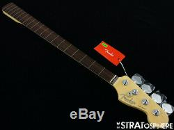 Fender American Professional Fretless Jazz BASS NECK + TUNERS Slim C Rosewood