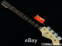 Fender American Professional Jazz Bass NECK + TUNERS 9.5 Slim C Rosewood
