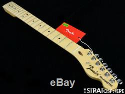 Fender American Special Telecaster Tele NECK & TUNERS Guitar USA C Maple #15