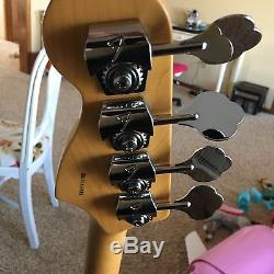 Fender American Standard Precision Electric Bass Guitar Neck And Tuners
