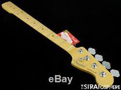 Fender American Standard Precision P BASS NECK & TUNERS USA Bass Guitar Maple