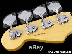 Fender American Standard Precision P BASS NECK+ TUNERS USA Bass Guitar Rosewood