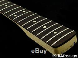 Fender Deluxe JAZZ BASS NECK & TUNERS J Bass Guitar Dark Rosewood #100