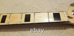 Fender Geddy Lee Jazz Bass Neck with Tuners & neck plate