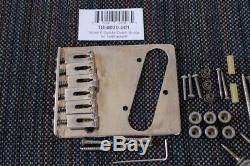 Fender/Gotoh Aged/Relic Telecaster Nickel Hardware Set Tuners Modern GTC Bridge