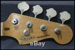 Fender Japan Precision Bass Neck and Tuners Circa 1984 1987