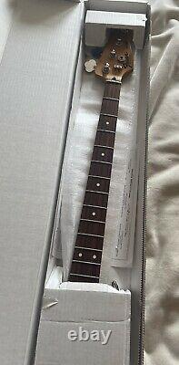 Fender Jazz Bass Neck 1995 Rosewood Finger Board With Vintage Tuners