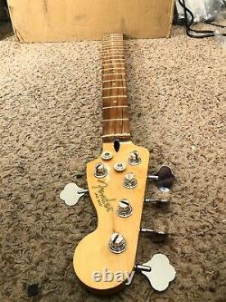 Fender Jazz Bass V Pau Ferro Player five string neck loaded with tuners nut