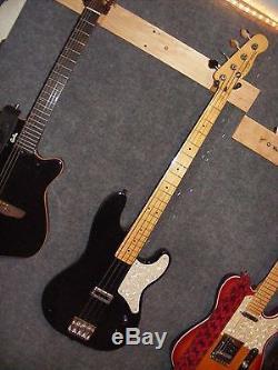 Fender La Cabronita Bass, With TV Jones Pickup & Hipshot Tuners, Flat Wound String