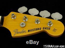 Fender Mustang BASS NECK & TUNERS Rosewood Bass Guitar Short Scale Bass