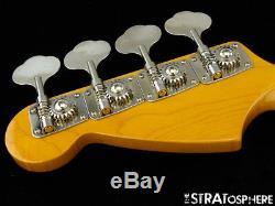 Fender Mustang BASS NECK + TUNERS Rosewood Bass Guitar Short Scale Bass Japan
