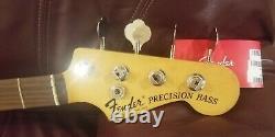 Fender Nate Mendel Precision P Bass Neck, Slim 71 C Nitro Rosewood, withTuners
